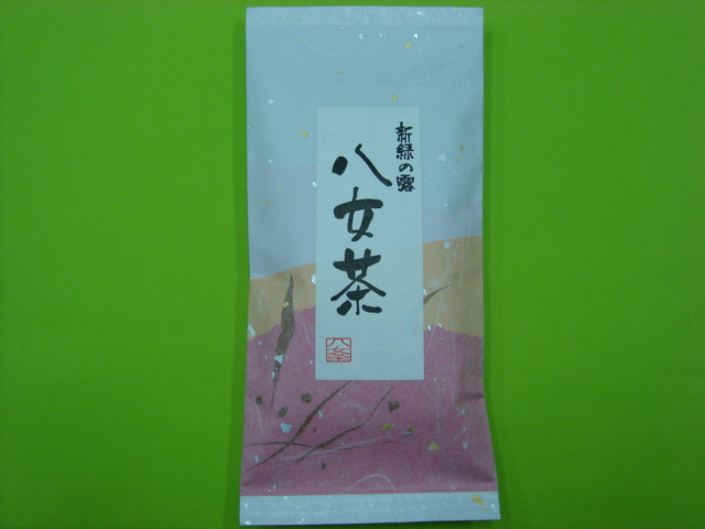産地別銘茶    八女茶100g