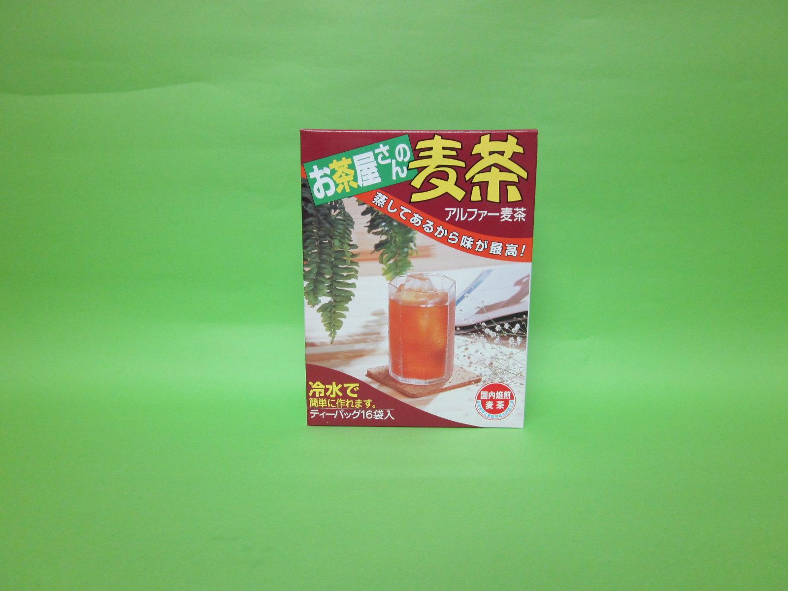 お茶屋さんの麦茶10g×16p