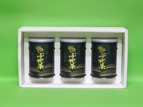 高級煎茶 秘園 3缶詰合せ
